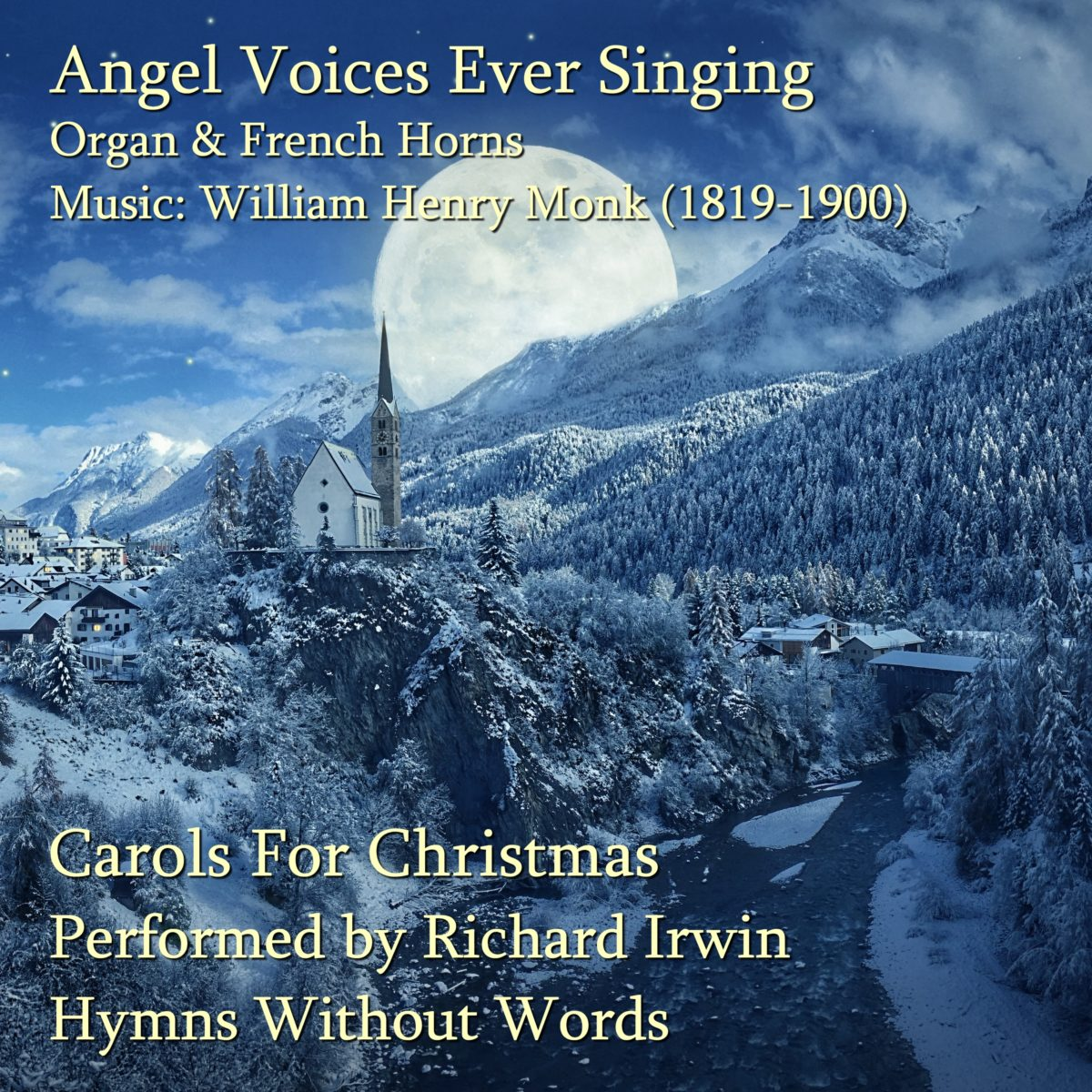 Angel Voices Ever Singing (Angel Voices – 5 Verses) – Organ