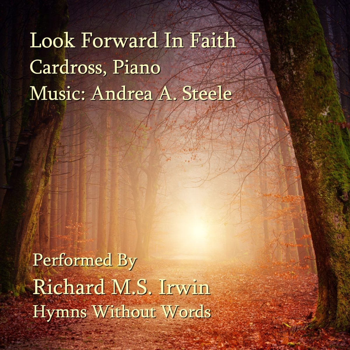 Look Forward In Faith (Cardross – 3 Verses) – Piano