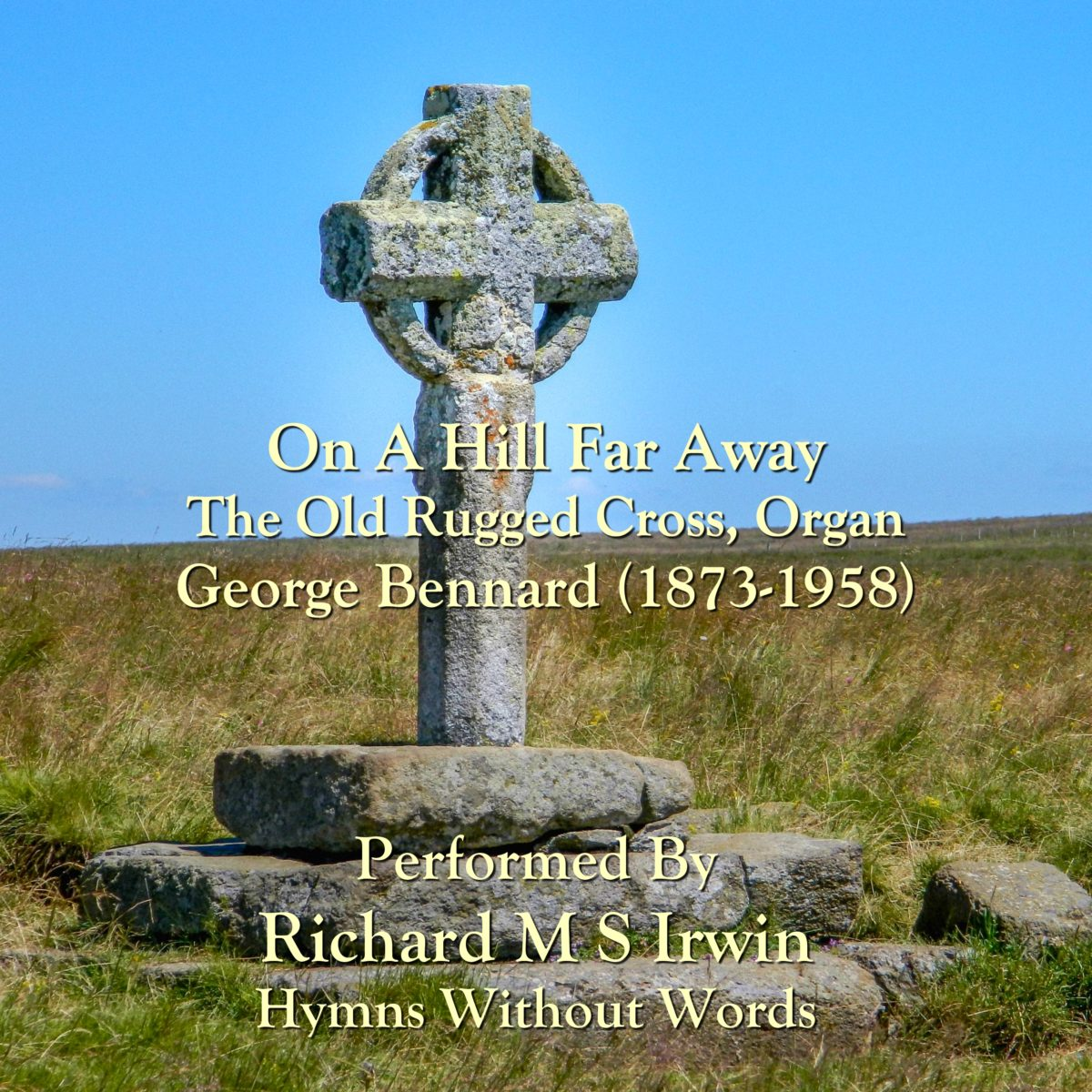 On A Hill Far Away (The Old Rugged Cross, Organ, 4 Verses)