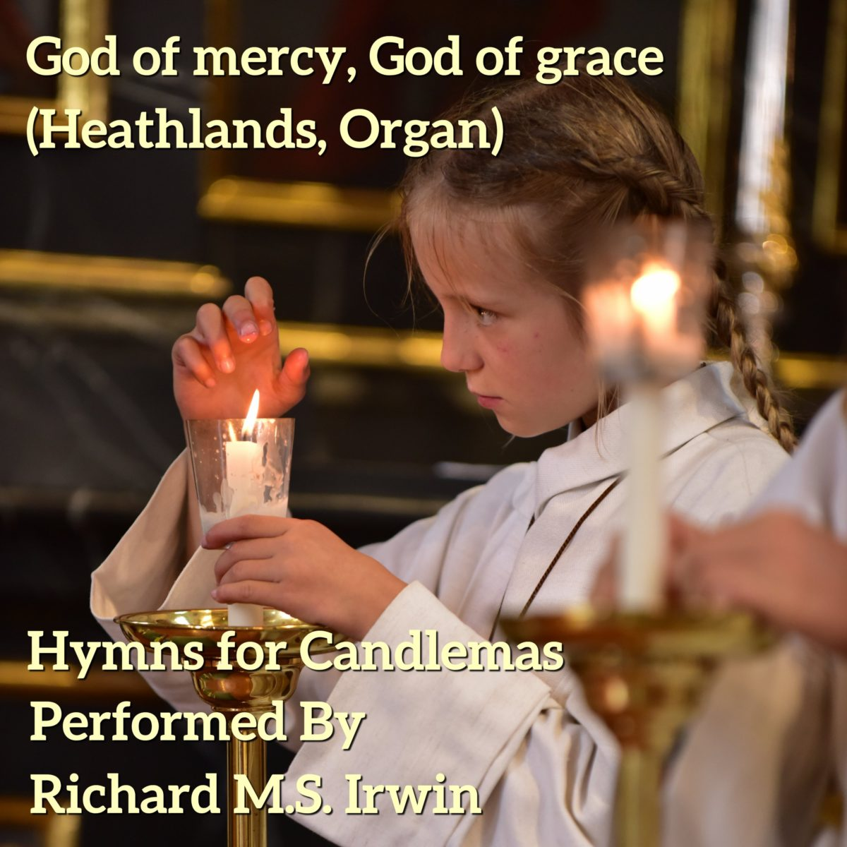 God Of Mercy God Of Grace (Heathlands, Organ, 3 Verses)