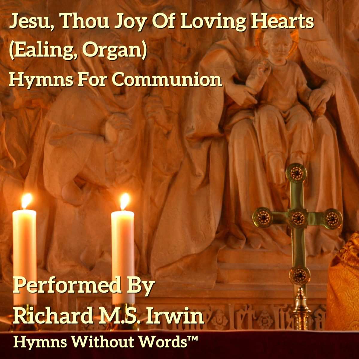 Jesu Thou Joy Of Loving Hearts (Ealing – 5 verses) – Organ