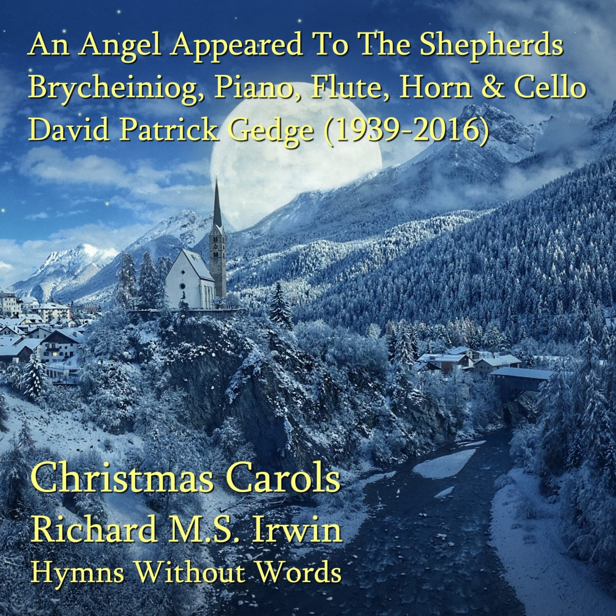 An Angel Appeared To The Shepherds (Brycheiniog – 4 Verses) – Small Ensemble