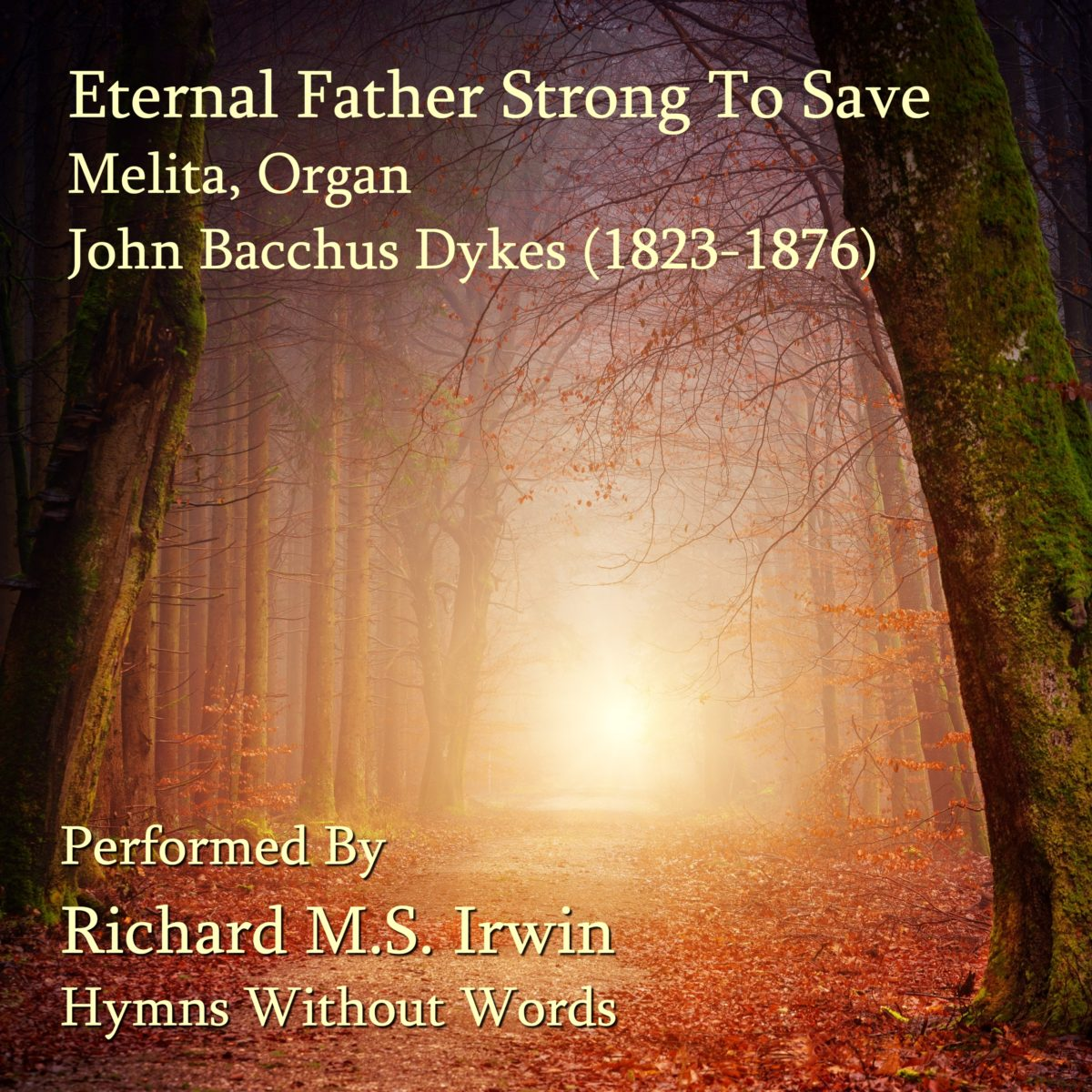 Eternal Father Strong To Save (Melita, Organ & Trumpet Descant, 4 Verses)