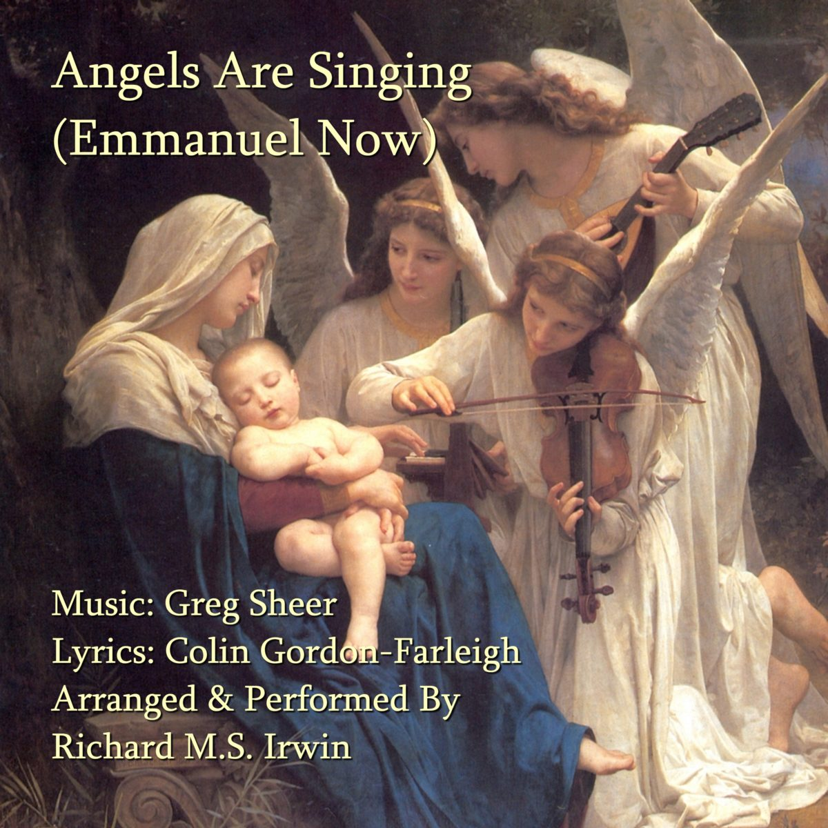 Angels Are Singing (Emmanuel Now 5 Verses) – Piano and SATB or Woodwind and Strings