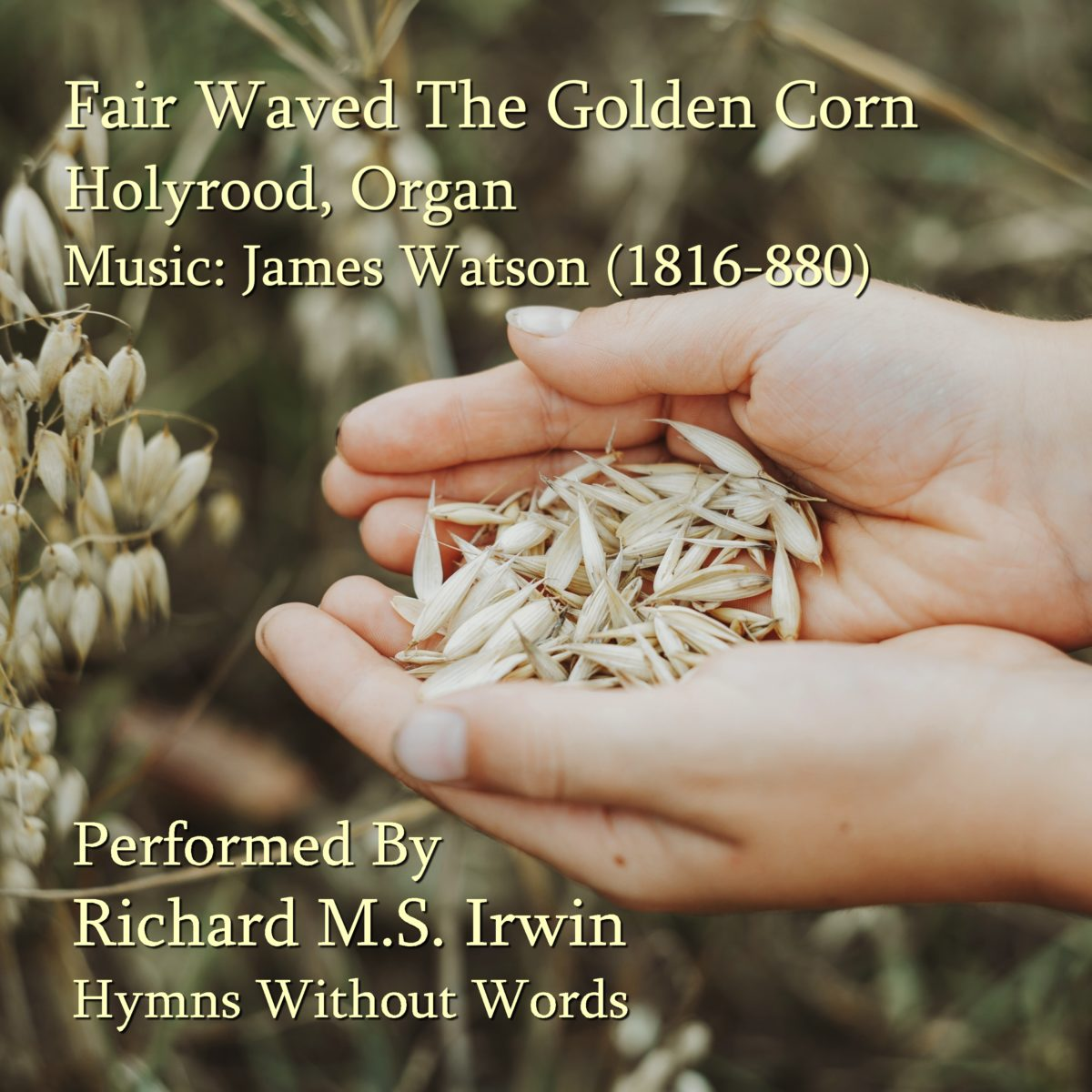 Fair Waved The Golden Corn (Holyrood – 5 Verses) – Organ