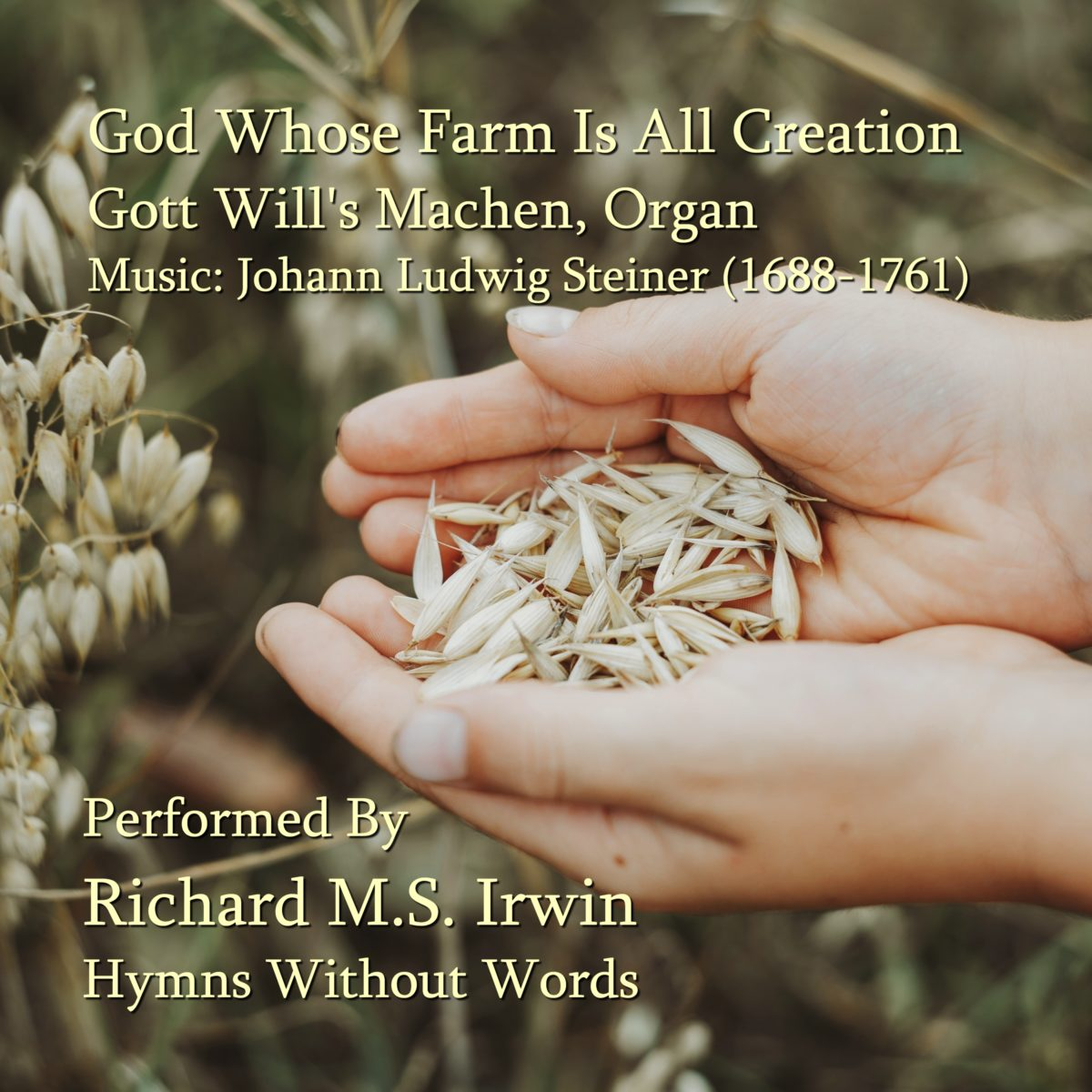 God Whose Farm Is All Creation (Gott Will's Machen – 3 Verses) – Organ