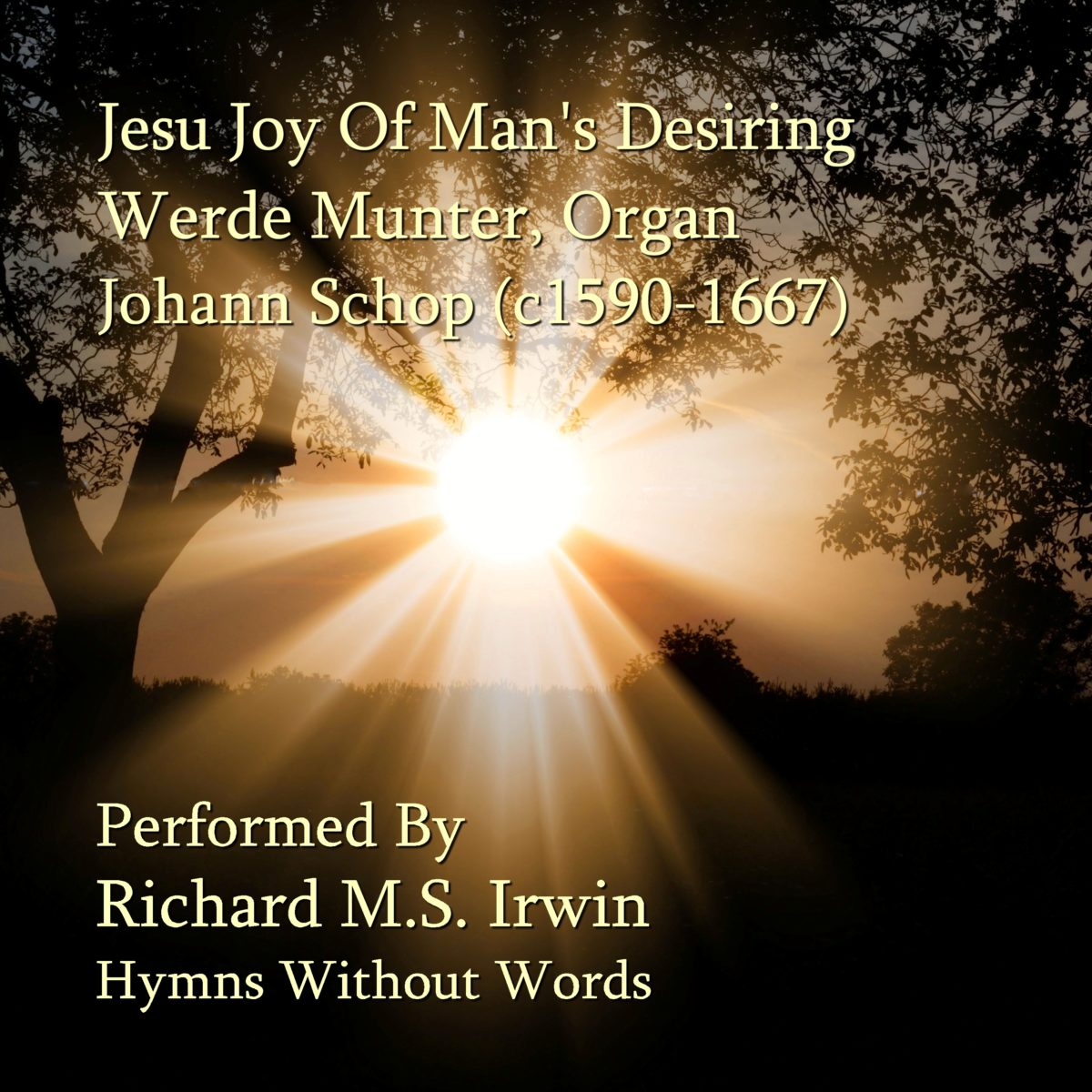Jesus Joy Of Our Desiring (Werde Munter, Organ, 5 Verses)
