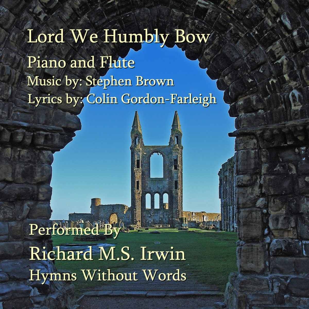 Lord We Humbly Bow (Piano And Flute, 3 Verses)