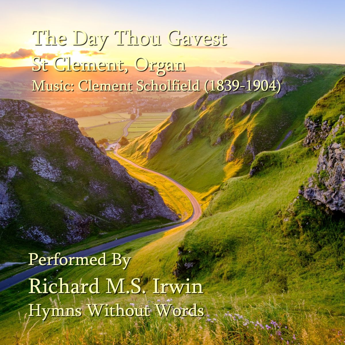 The Day Thou Gavest (St Clement, Organ, 5 Verses)