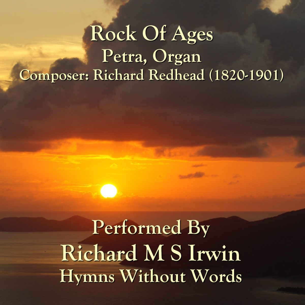 Rock Of Ages (Petra, Organ, 4 Verses)